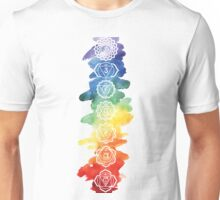 The 7 Chakras Unisex T-Shirt