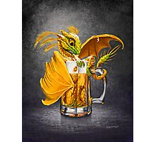 Beer Dragon Photographic Print