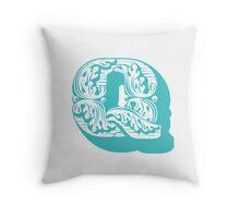 alphabet Pillow - Q Throw Pillow
