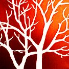 Blazing Trees by Morgan Ralston