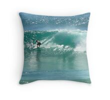 Burleigh Heads Surfing , Cushion Throw Pillow