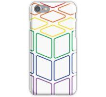 Rainbow Rubix Cube - Style 2 iPhone Case/Skin