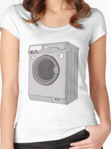 washmachine Women's Fitted Scoop T-Shirt