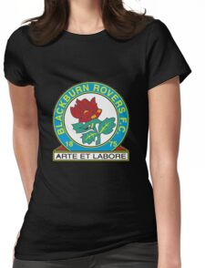 blackburn rovers logo Womens Fitted T-Shirt