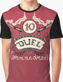 Ten Duel Commandments Graphic T-Shirt