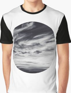 moon of sky // white Graphic T-Shirt