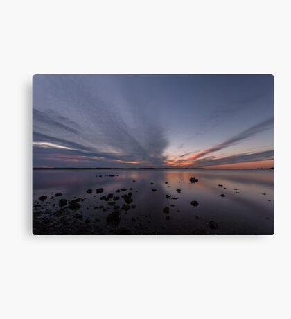 Redland Bay Sunrise Canvas Print