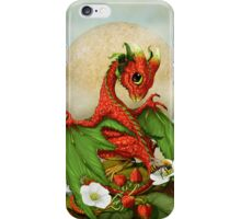 Strawberry Dragon iPhone Case/Skin
