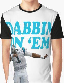Cam Newton Dab on em Carolina Panthers Graphic T-Shirt