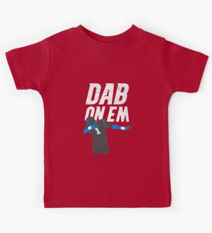 Cam Newton 'Dab On Em' Carolina Panthers Kids Tee