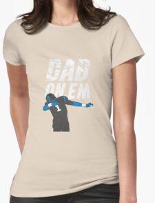 Cam Newton 'Dab On Em' Carolina Panthers Womens Fitted T-Shirt