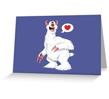 The Candy Pain Monster Greeting Card