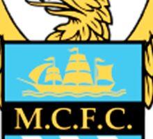 manchester city logo Sticker