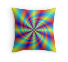Psychedelic Whirl  Throw Pillow
