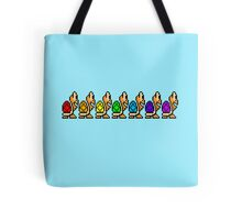 Troopas of the Rainbow Tote Bag