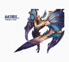 Aatrox League Of Legends by scoorpean