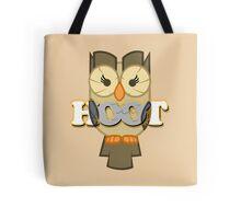 Owlowiscious - Hoot Tote Bag