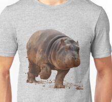Baby Hippo on the Run: Tee Unisex T-Shirt