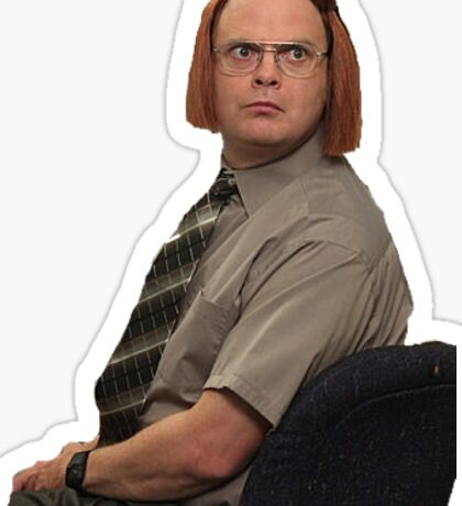 Dwight 'The Office' Sticker Sticker
