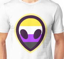 Nonbinary Alien Unisex T-Shirt