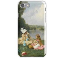 Ferdinand Heilbuth FRENCH SUMMER DAYS NEAR GIVERNY, FRANCE iPhone Case/Skin