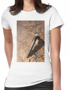 old nail Womens Fitted T-Shirt