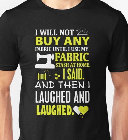 Fabric Stash Unisex T-Shirt
