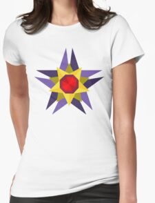 Starmie Vector Artwork Womens Fitted T-Shirt