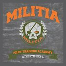 Militia Pilot Training Academy - Pillow by D4N13L