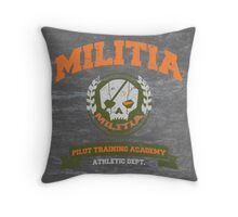 Militia Pilot Training Academy - Pillow Throw Pillow