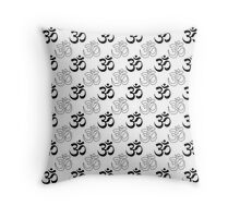 Om, Aum Symbol Throw Pillow