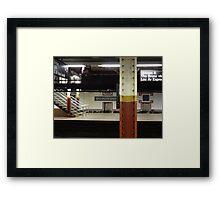 Brooklyn Bridge Subway NYC Framed Print