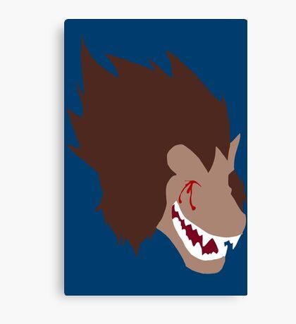 Blutz Wave Ape (Damaged) Canvas Print