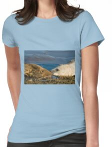 Grey Seal Cow & Pup Womens Fitted T-Shirt