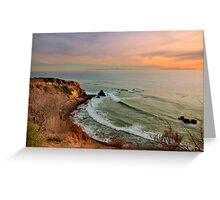 Palos Verdes Coastal View Greeting Card