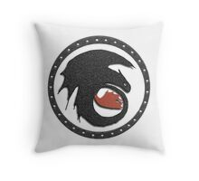 Night Fury Symbol Tee (How To Train Your Dragon Throw Pillow