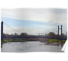 Exeter Bridge.......Exeter Quays, Devon UK Poster