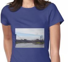 Exeter Bridge.......Exeter Quays, Devon UK Womens Fitted T-Shirt