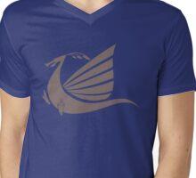 Viking Boat Mens V-Neck T-Shirt