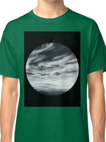 moon of sky // black Classic T-Shirt