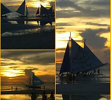 Boracay Sunset by Tleighsworld