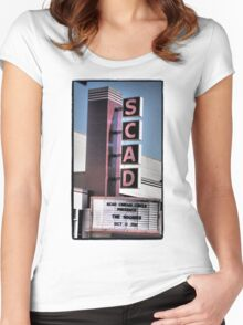 SCAD Women's Fitted Scoop T-Shirt