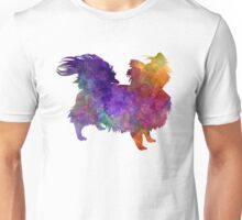 Chihuahua 02 in watercolor Unisex T-Shirt