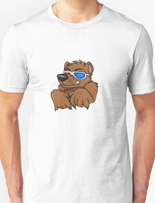 Party Bear - Brown T-Shirt