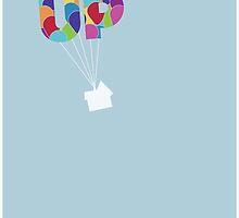 Up Minimalist  by BGWdesigns