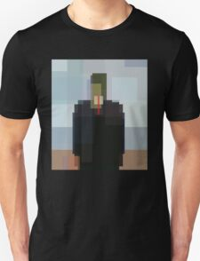 Magritte: Son of Man (computer-generated abstract version) Unisex T-Shirt