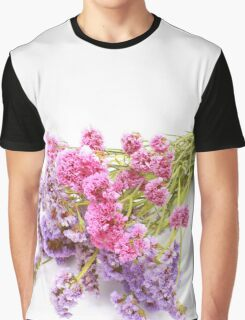 Purple And  Pink Graphic T-Shirt