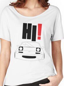 HI Miata! Women's Relaxed Fit T-Shirt