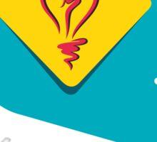 creative idea design  Sticker