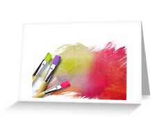 Teen Paint Greeting Card
